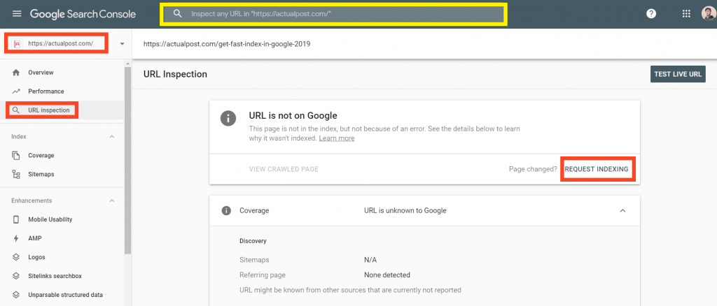 URL-Inspection-Best-Way-to-Get-Fast-Index-in-Google